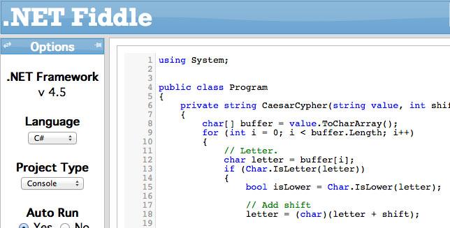 Viết và chia sẻ code online với fiddle