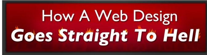 """Thiết kế của một trang web trở nên """"banh chành"""" như thế nào"""
