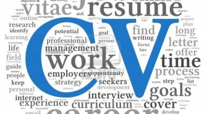 Muôn nẻo đường tìm việc – Phần 1: Viết CV rõ ràng và chuyên nghiệp
