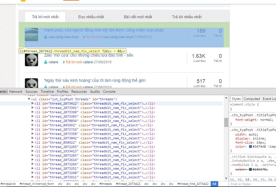 Tutorial] Trích xuất thông tin từ website với HTML Aglitity