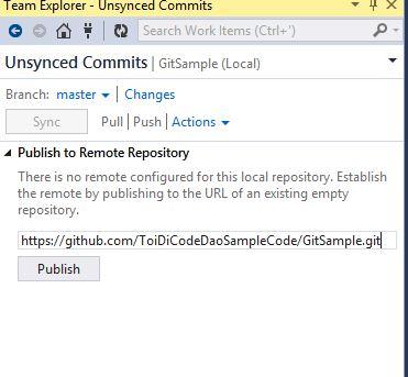 Tutorial] Hướng dẫn tích hợp Visual Studio với Github | Từ coder đến