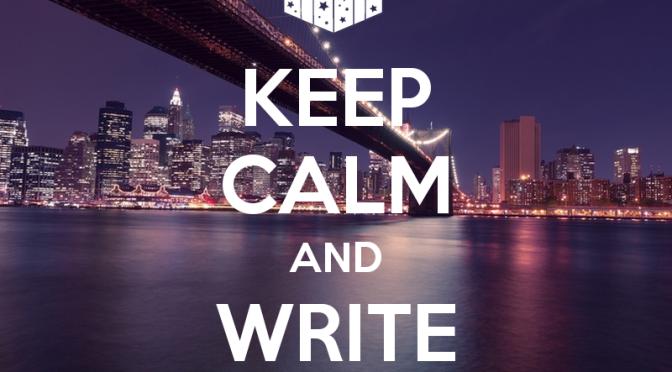 Ngồi xuống và viết blog đi nào