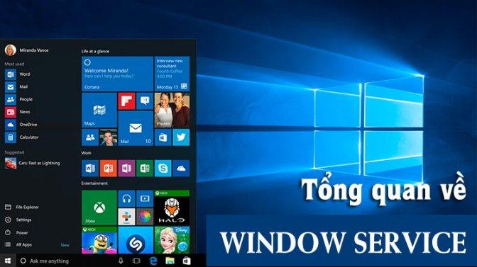 Series C# hay ho – Tổng quan về Windows Services (WS)