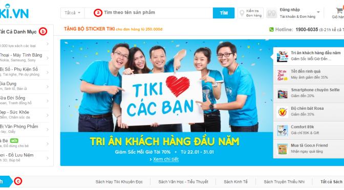 """[Cảnh báo] Tiki.vn đã """"âm thầm"""" đổi mô hình kinh doanh như thế nào!!"""