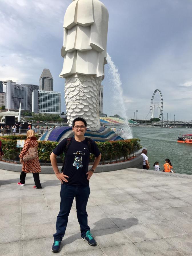 Đôi dòng cáo lỗi và chia sẻ về cuộc sống bên Singapore