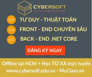 Cybersoft - Đào tạo chuyên gia lập trình