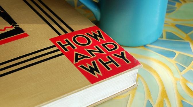Đừng chỉ hỏi Làm Sao (How), mà hãy hỏi Tại Sao (Why)?