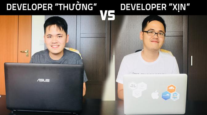 """Sự khác biệt giữa developer thường và developer """"xịn"""""""
