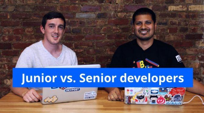 Sự khác biệt giữa Junior và Senior Developer