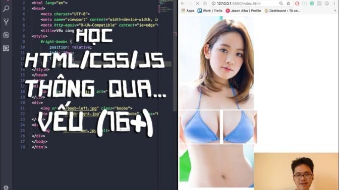Code Cùng Code Dạo – Học HTML/CSS/JS thông qua… vếu