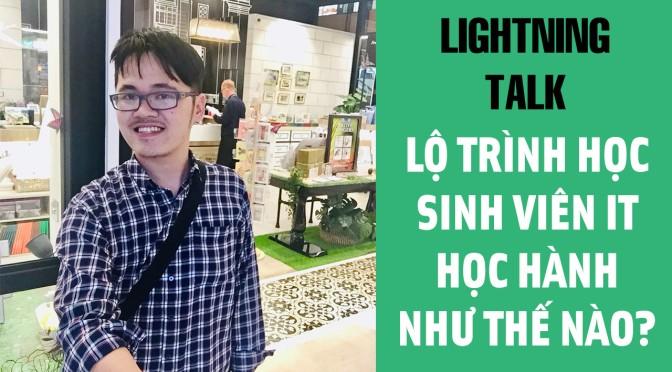 Lightning Talk Kì 25 – Lộ trình học cho sinh viên IT