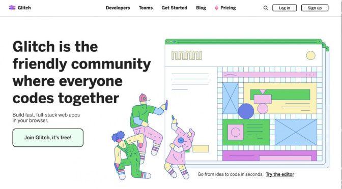 """Build và deploy website để """"khè"""" bạn bè vô cùng đơn giản với Glitch.com"""
